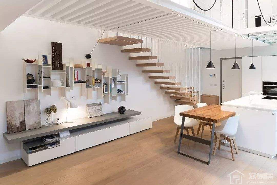 复式公寓装修效果图 复式公寓装修注意事项