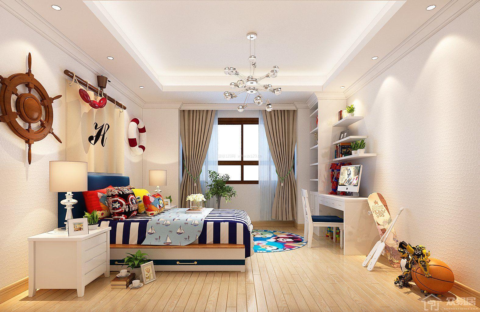 美式兒童房裝修設計 安全舒適的兒童房如何打造