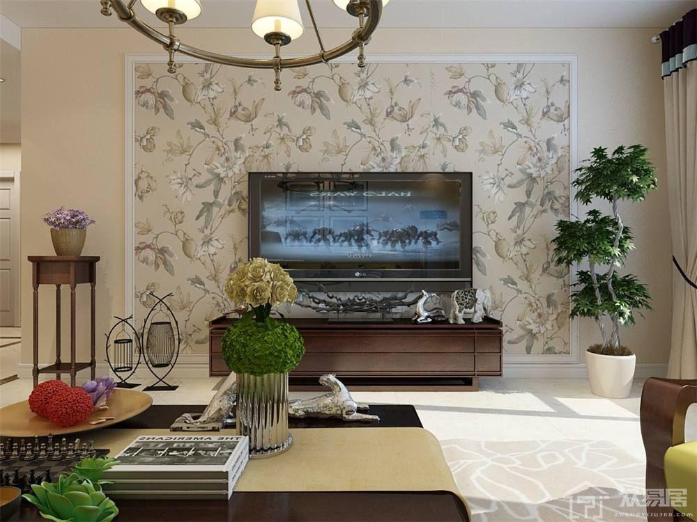 客廳電視背景墻如何設計 客廳電視背景墻墻紙應該怎么選擇