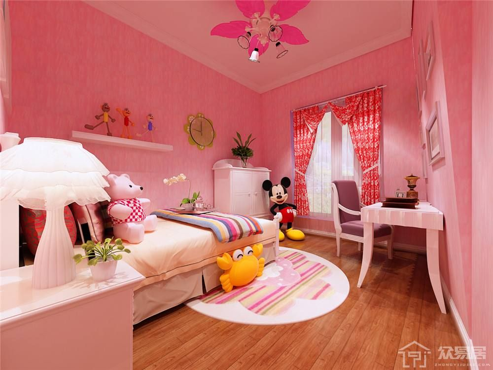 儿童卧室装修设计注意事项 儿童卧室装修要点