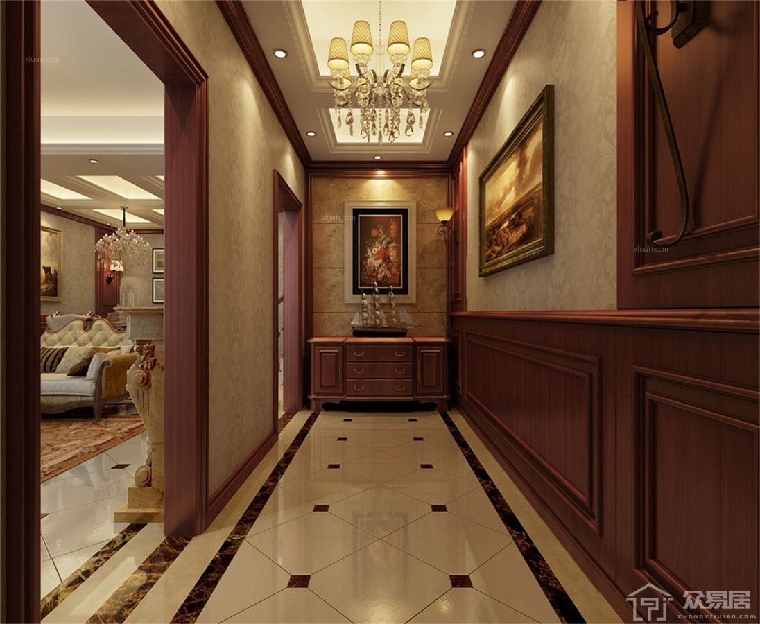美式玄关怎么装修设计 美式玄关装修风格