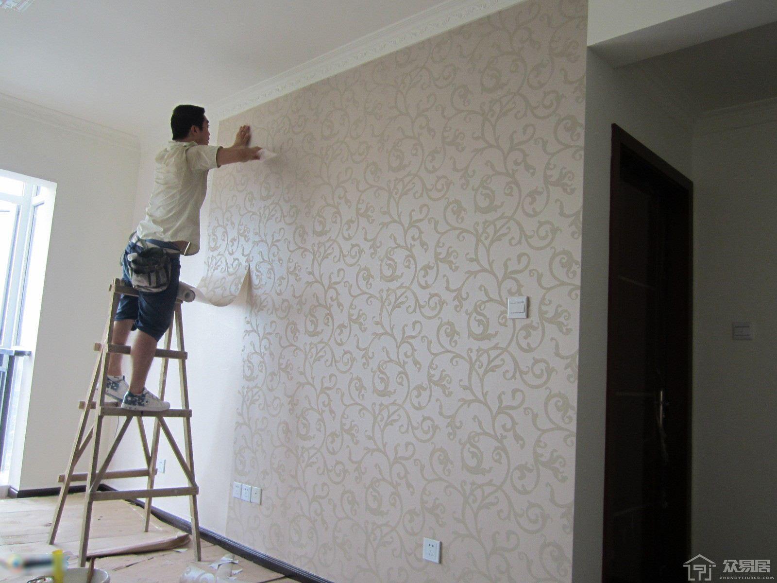 自己贴墙纸怎么操作?贴墙纸的步骤说明