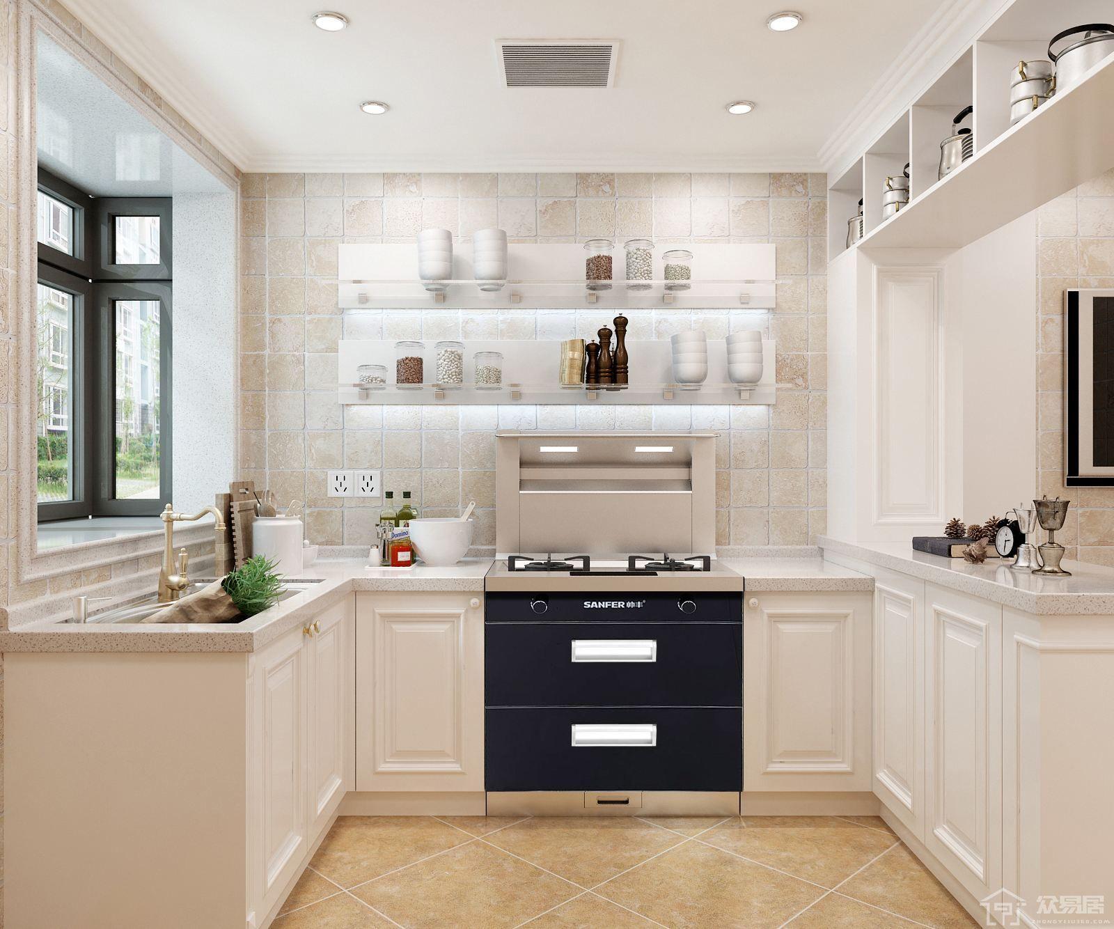 厨房灶台怎么装修设计 厨房灶台什么颜色好看