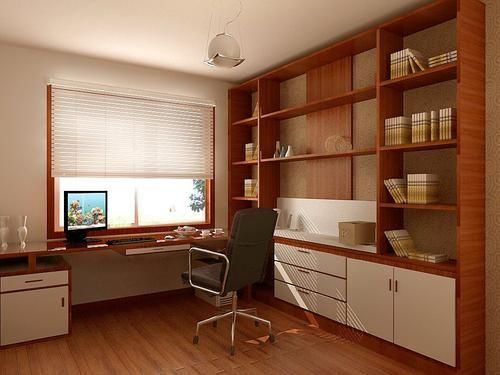 书房装修隔音怎么做 书房装修效果图