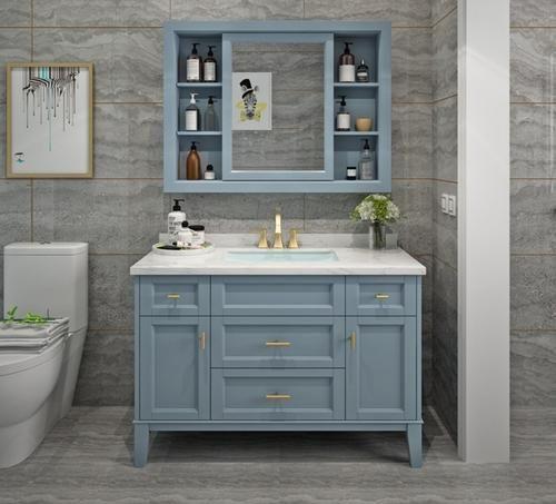 卫生间洗脸盆柜如何选择 洗脸盆柜安装方法