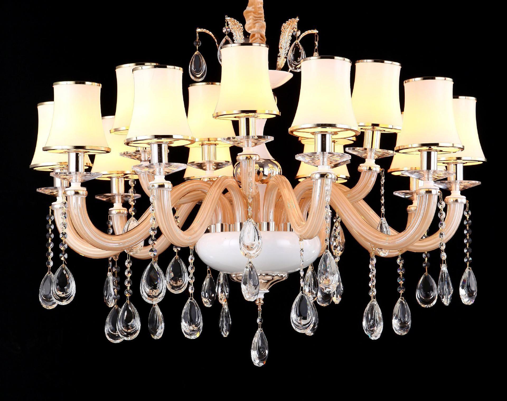 水晶灯日常清洗技巧 水晶灯安装注意事项