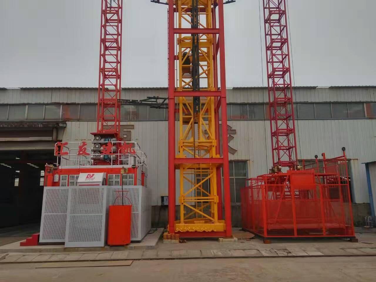 施工升降機的介紹 施工升降機的工作原理