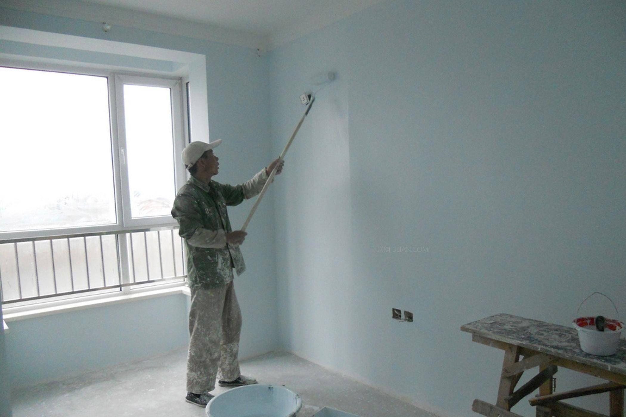 旧房翻新墙面怎么刷漆 墙面翻新施工步骤