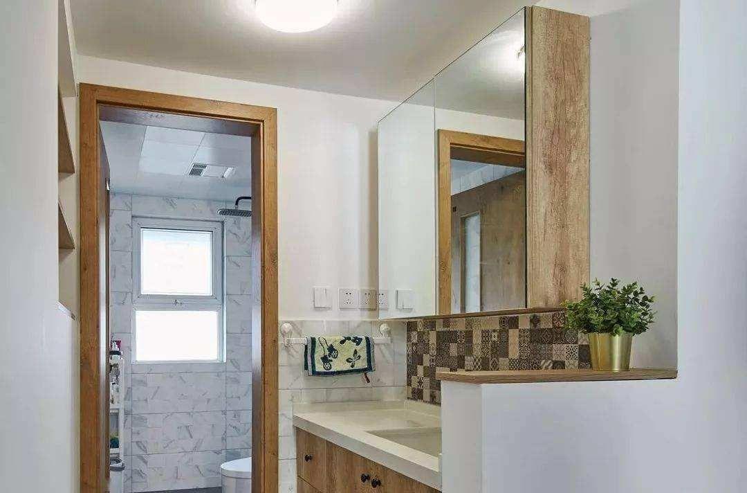 过道开放式洗手台怎么设计 开放式洗手台设计注意事项