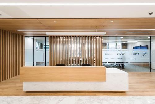 企业接待台怎么布置设计 企业接待台的材质