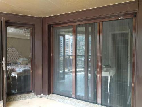 折叠纱窗门的特点 折叠纱窗门怎么清洗