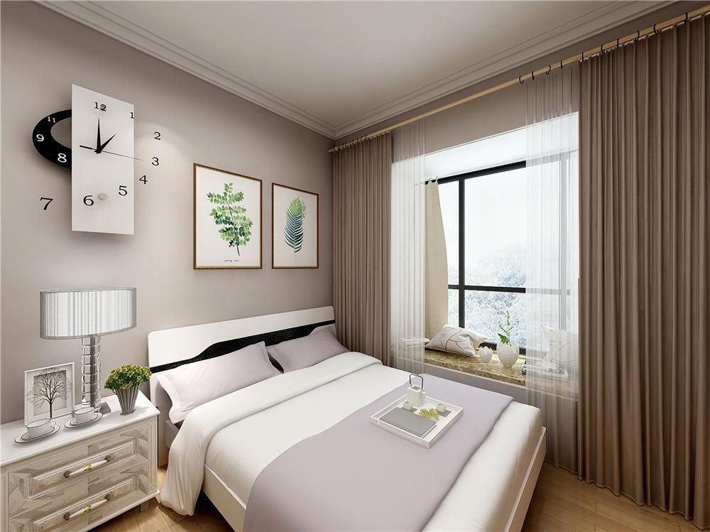 卧室简约设计布置 卧室简约风格装修