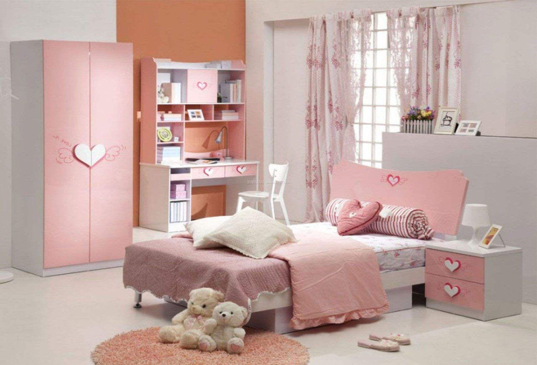 女生房间设计要点 女生房间装修效果图