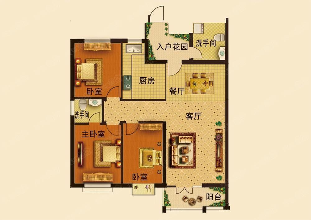 怎么看户型图 买房必看的户型图