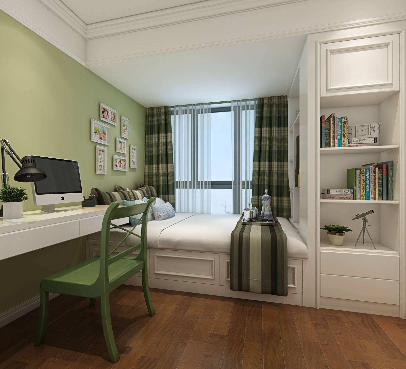 书房卧室一体如何设计 多功能书房卧室介绍