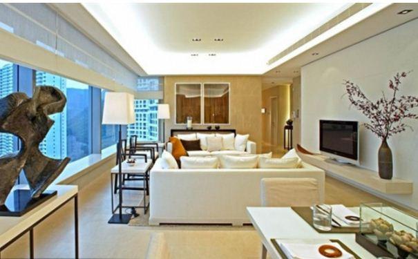 现代中式-设计师梁志天作品欣赏 现代中式风格效果图