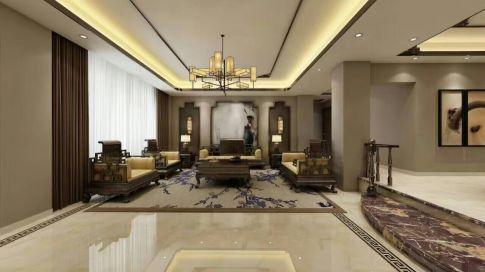 珠光新城复式中式风格装修案例欣赏