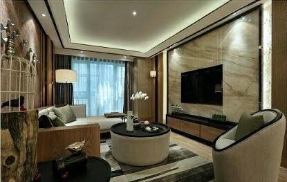 两江春城 二居室简约装修效果图