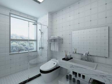 白色童话。三居室欧式装修效果图