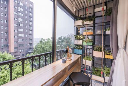红旗街四号三居室日式韩式风格装修效果图