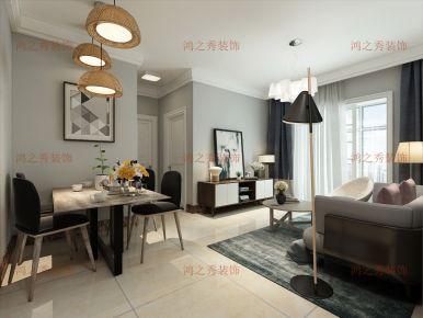 南阳和润林湖美景 三居室简约风格装修效果图