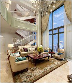 奕翠园复式楼装修:低调奢华的完美表现