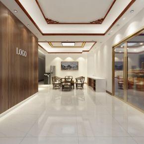 珠海汉兴建筑200平装修效果图