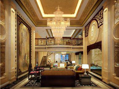 深圳蓝郡顶层4层复式装修效果图欣赏