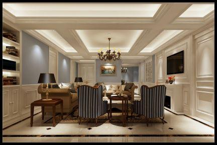 温州上吕浦锦园 四居室欧式风格家庭装修设计案例