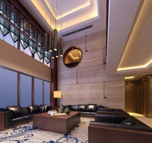 温州跃层中式风格别墅装修设计方案