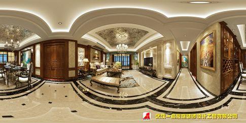 汉口城市广场 复古美式装修设计效果图欣赏