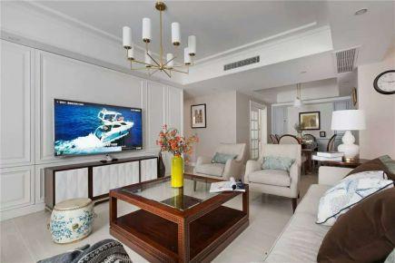 宁波宝龙世家 现代美式风格家庭装修设计--睦 · 色