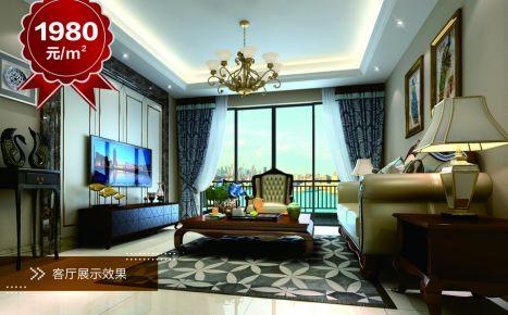 贵阳美的林城 流金岁月复古风家庭装修效果图欣赏