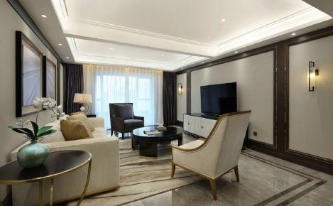 武汉保利城  现代风格家庭装修效果图欣赏