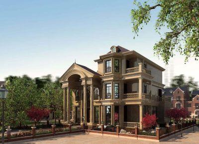 温州永嘉自建别墅设计方案 现代风格别墅装修设计效果图