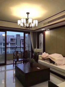 重庆生活家装饰 江与城220平轻中式装修风格