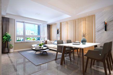温州大诚金廷 四居室现代家庭装修设计方案