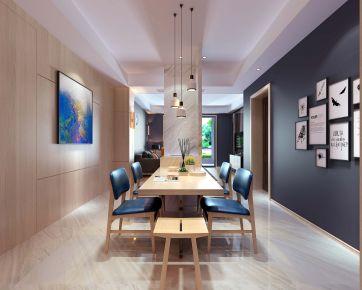 温州爱情海岸 四居室现代家庭装修设计方案