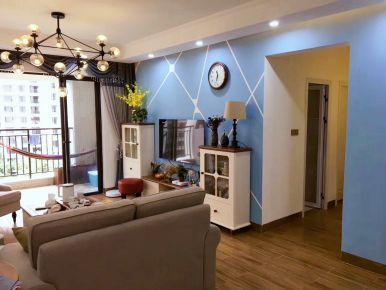 林生雅居——中山保利国际简美风格家庭装修设计