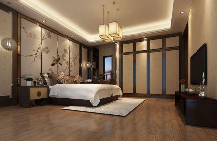 珠海中式风格四房装修设计 中式风格家庭装修效果图欣赏