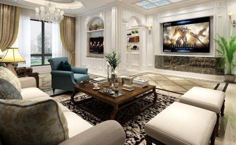 上海康桥半岛 260平别墅装修设计效果图