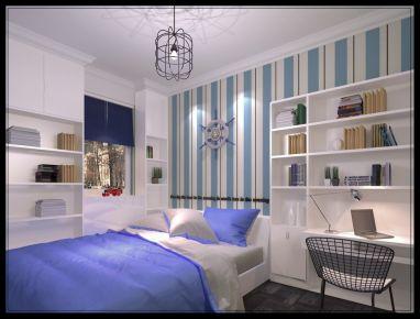 温州浦东区东方路1881弄 三居室现代风格装修案例