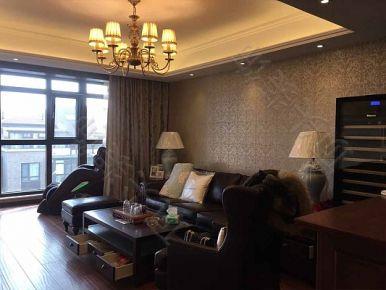 青岛香山美墅 三居室美式风格家庭装修设计案例