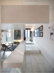 重庆生活家装饰  紫御江山120平现代风格家庭装修效果图