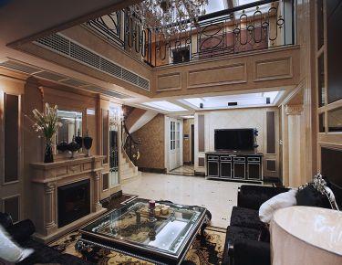 温州瑞嘉佳园欧式风格别墅装修设计方案效果图