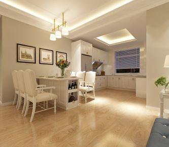 青岛海乐府 三居室中式风格装修设计效果图