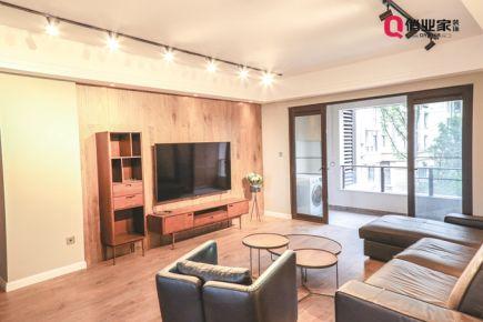 重庆约克郡113平|三居室北欧风格装修设计效果图