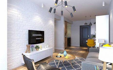 青岛和达璟城 三居室欧式风格装修设计效果图