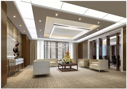 青岛东方国际 简约办公室装修设计效果图