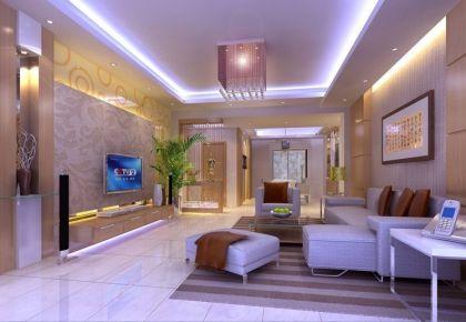 东莞新里城 三居室现代风格装修设计效果图欣赏